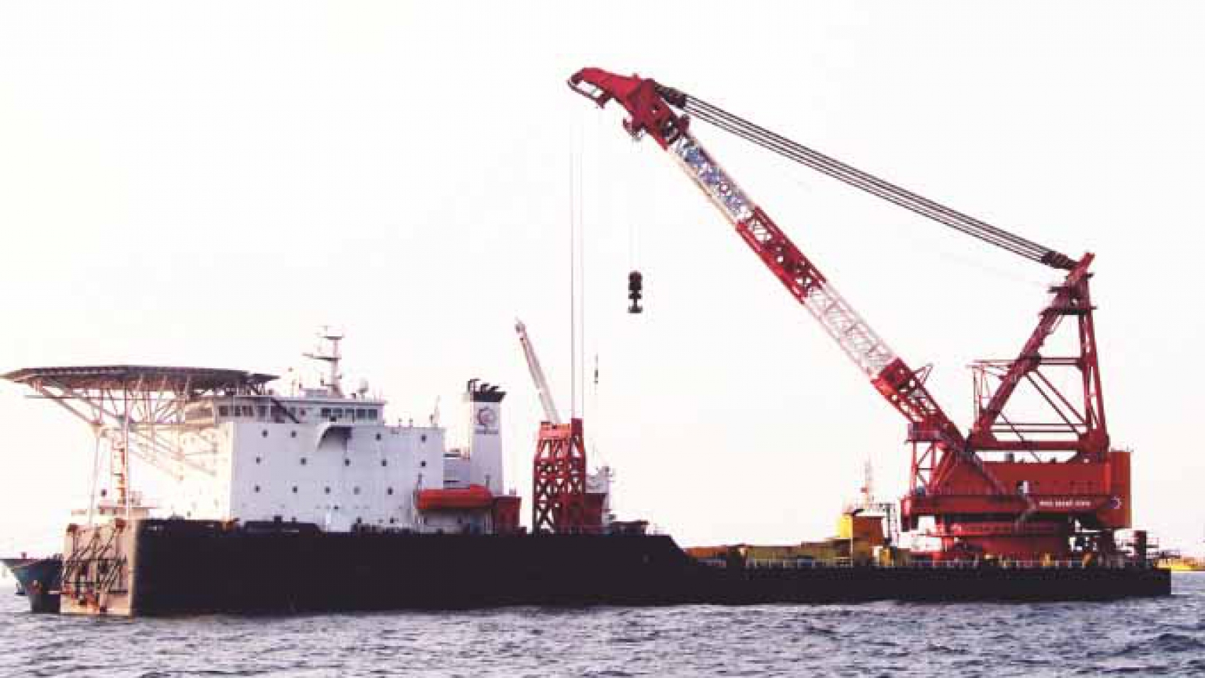 Derrick Pipelay Barge For Sale Ref-1231 - Marine Tags