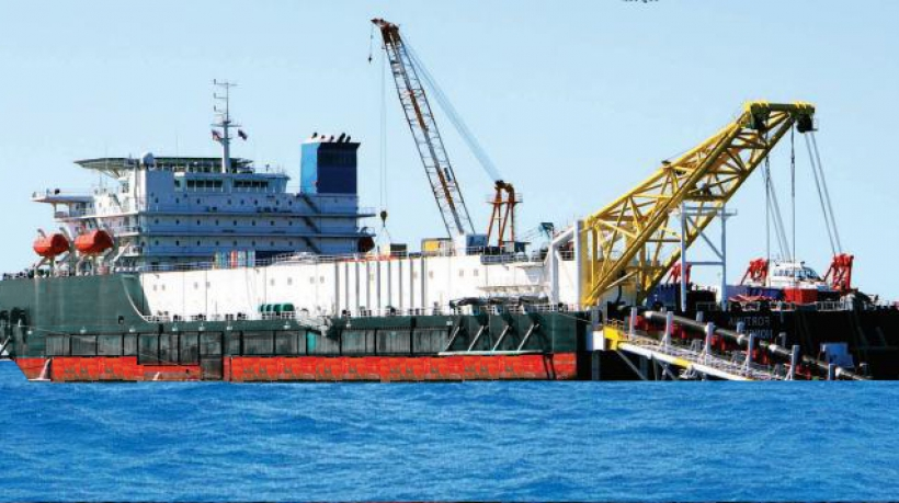 Derrick Pipelay Barge For Sale Ref-1321
