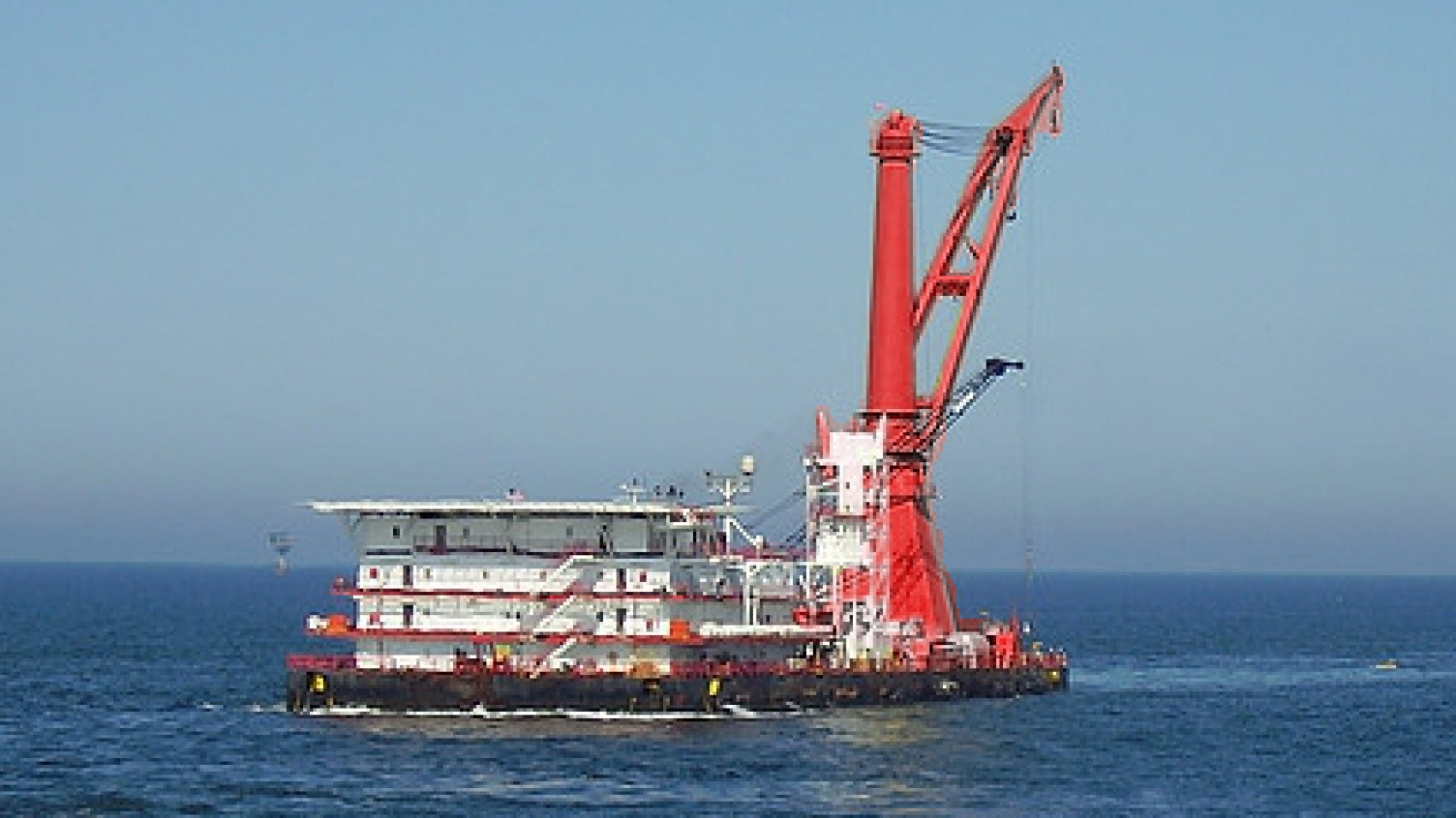 Derrick Pipelay Barge for Sale Ref-1251