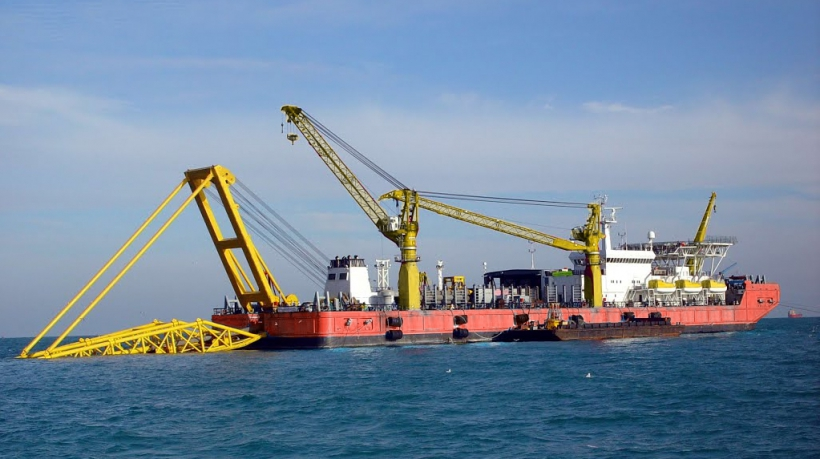 Pipelay Barge For Sale Ref-1311