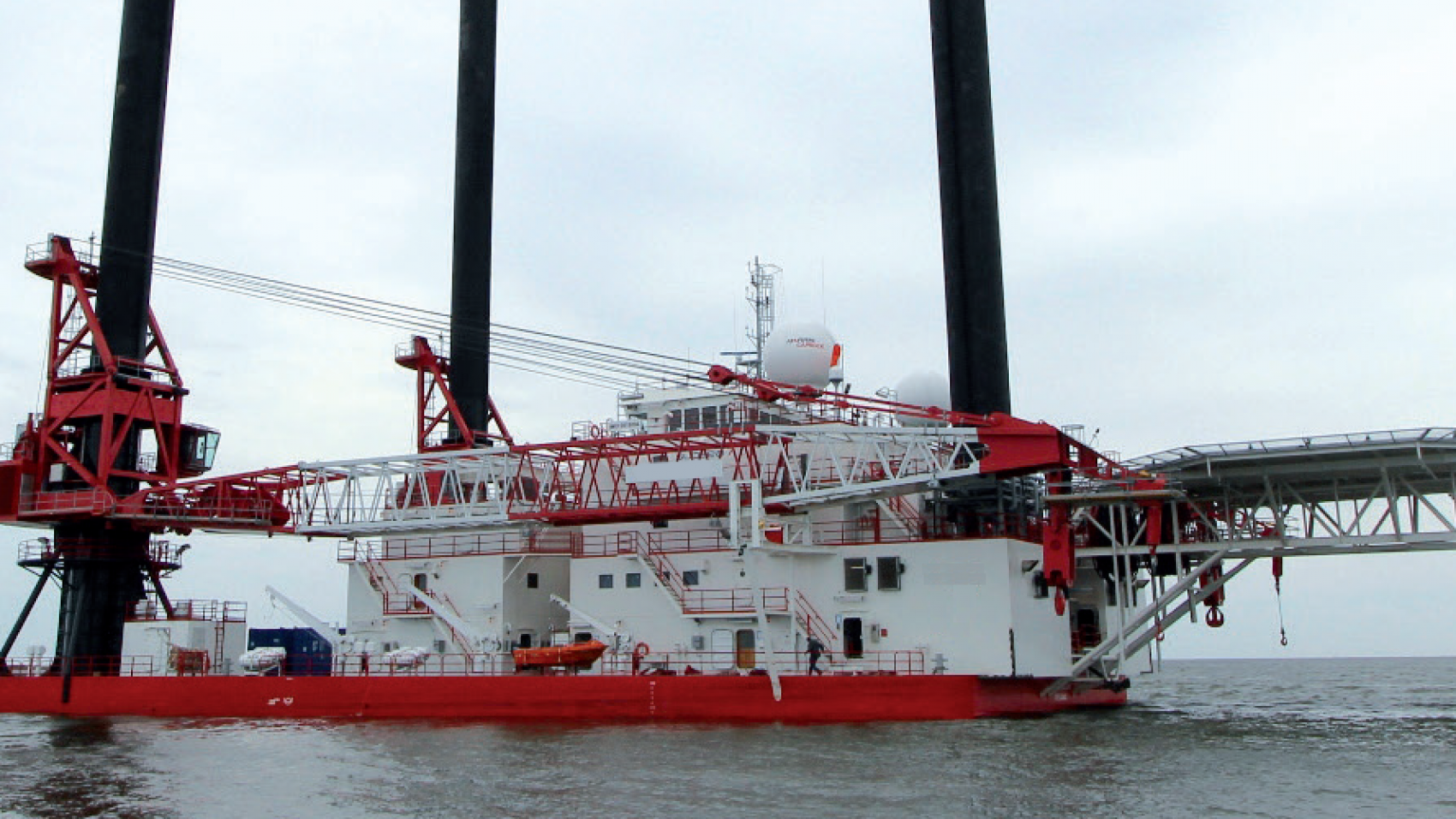 Self Propelled Jack Up Barge For Sale or Charter