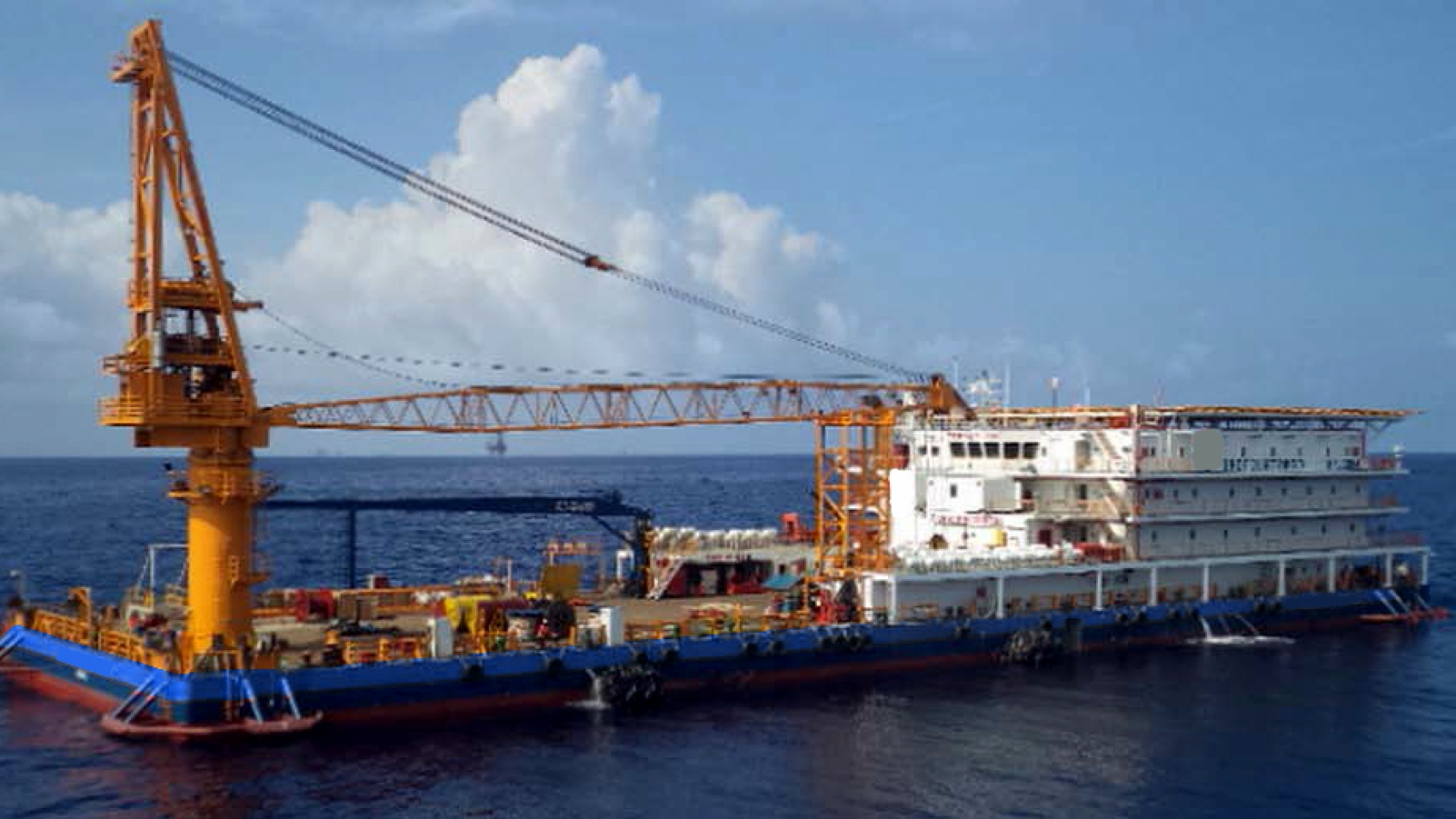 300 Pax Accommodation Barge for Sale or Charter Ref-1281