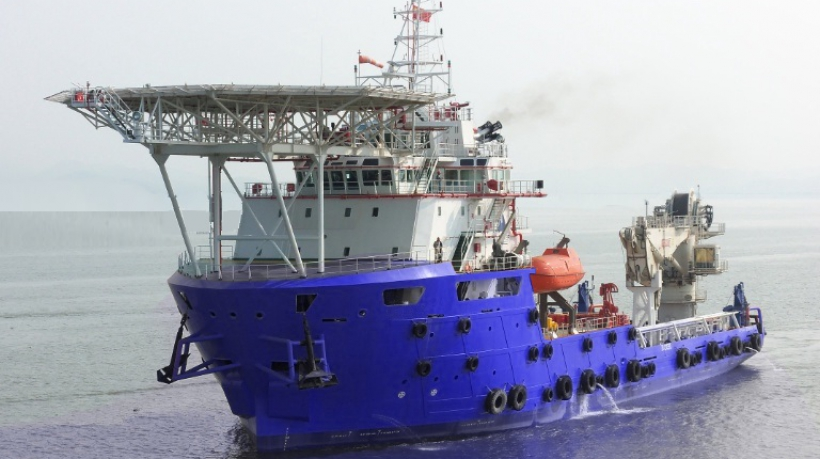 85M DP2 Subsea Support Maintenance Vessel For Sale