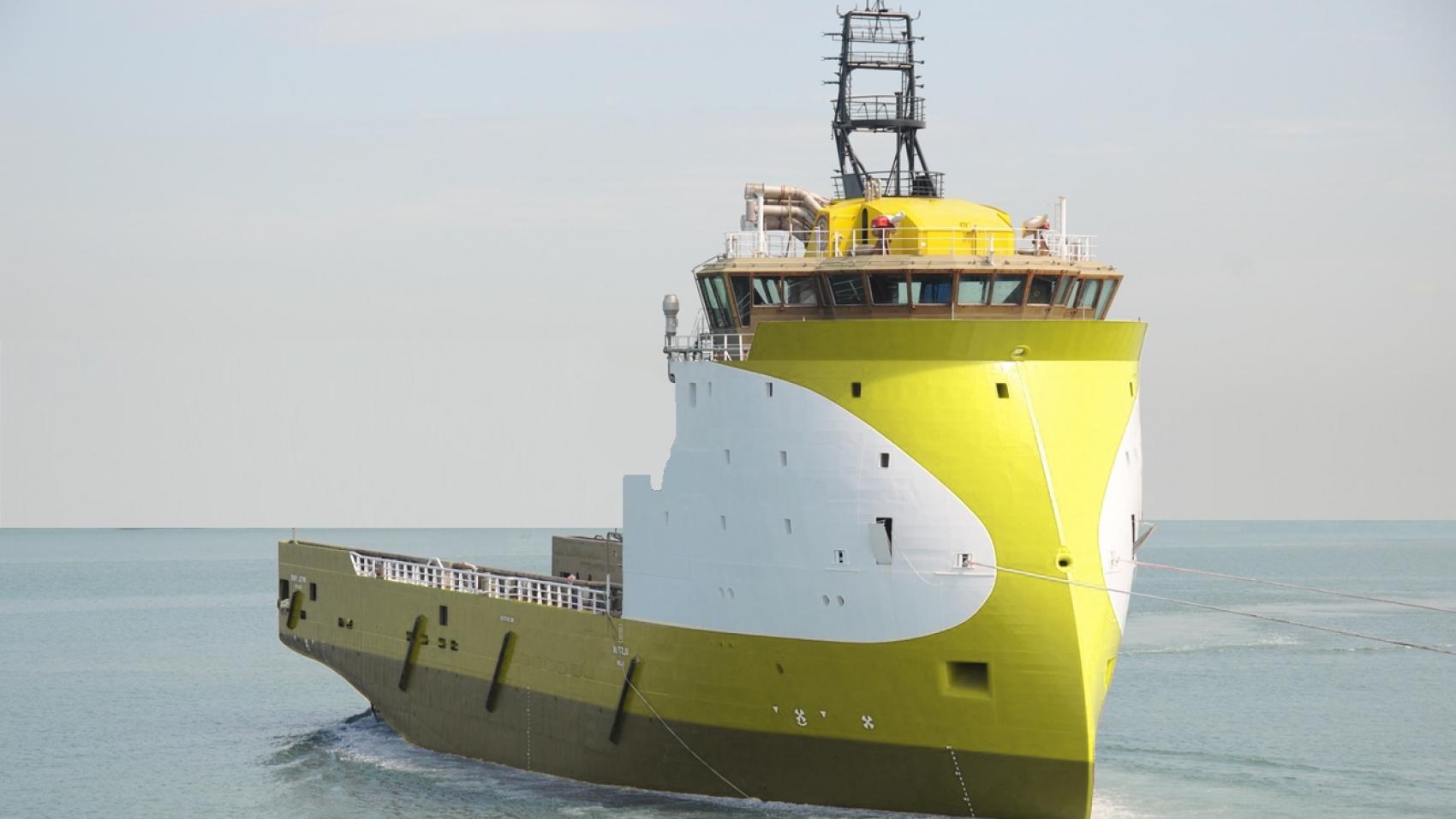 84M DP2 Platform Supply Vessel for Sale or Charter