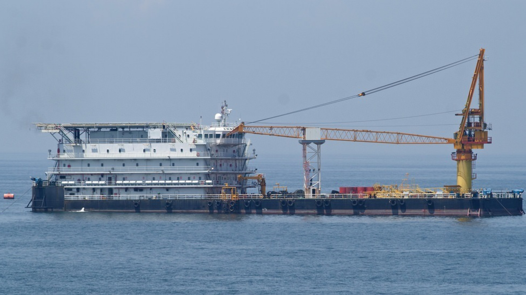 300 Pax Accommodation Work Barge for Sale or Charter