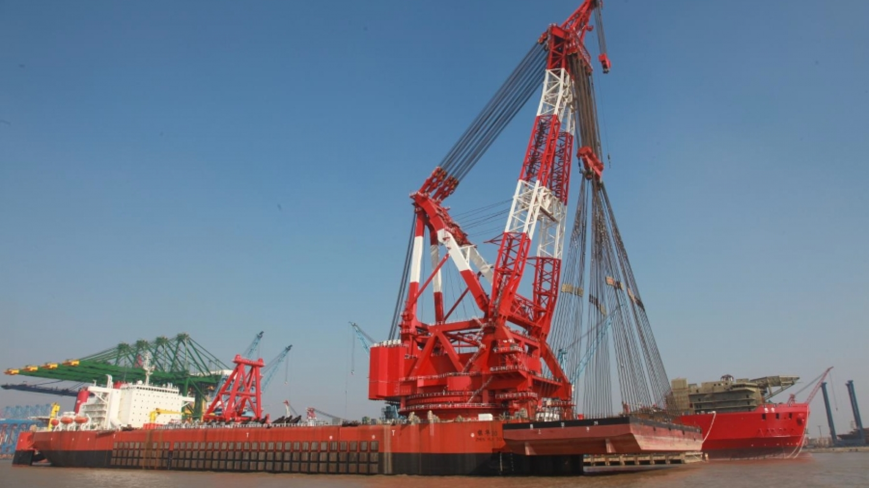 12000T Floating Crane Vessel for Sale File - Ch-2022