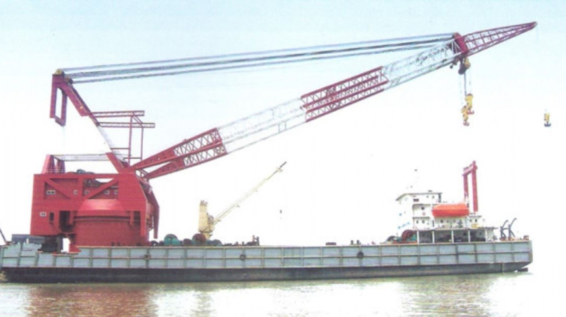1200t Crane Barge for Sale - File CH-2021