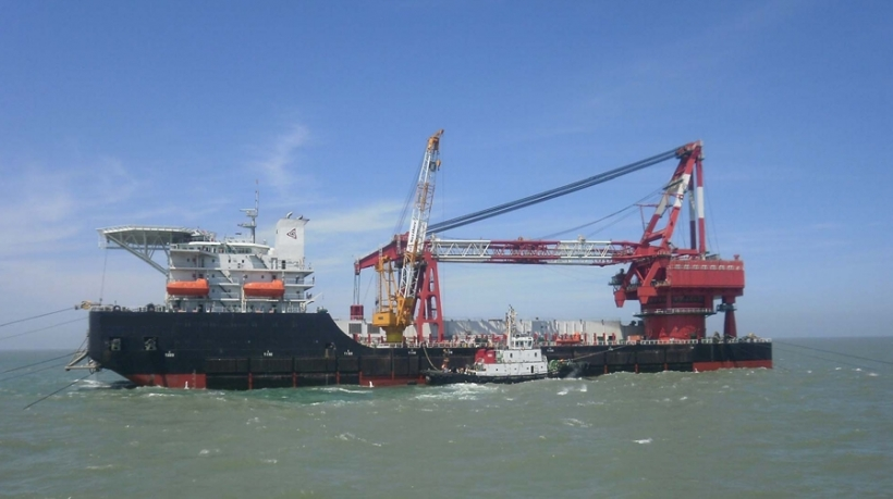 3000T Derrick Pipelay Barge For Sale