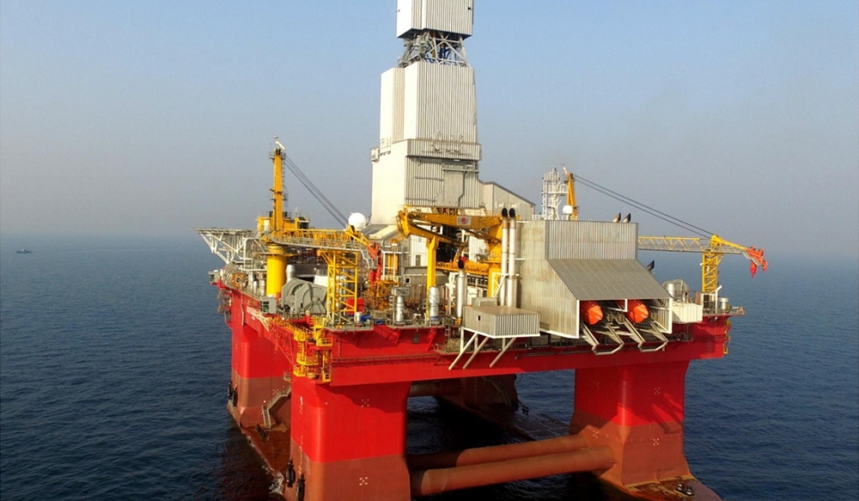 DP3 SEMI-SUBMERSIBLE DRILLING RIG FOR SALE
